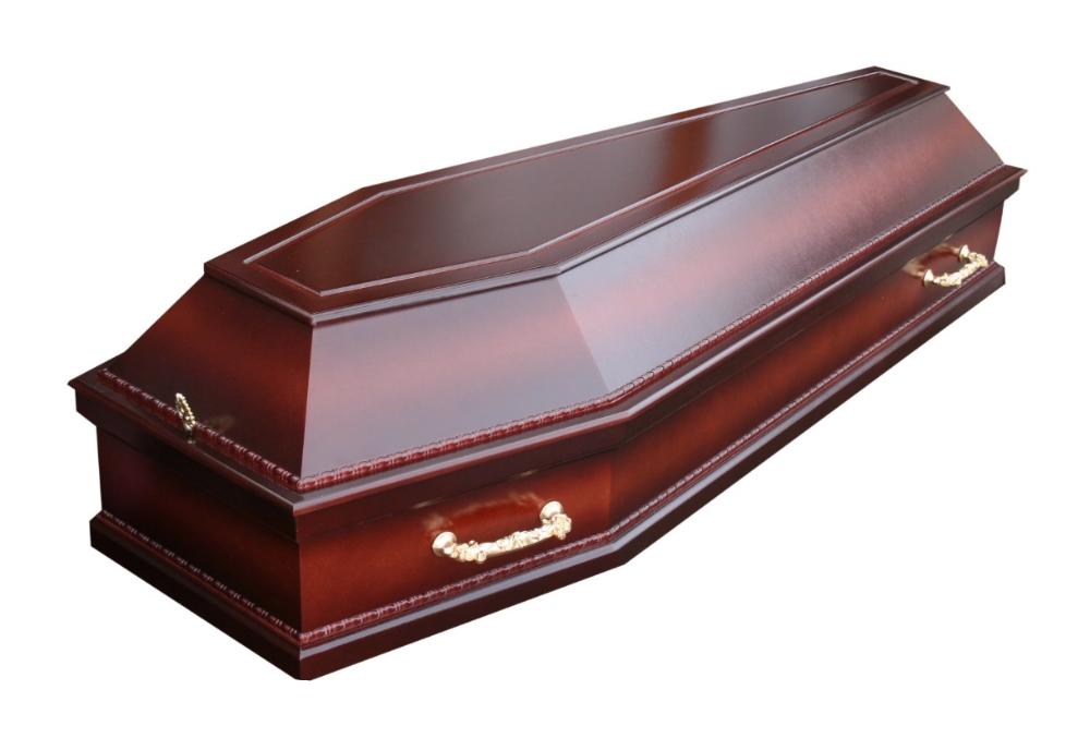 Гроб Успение Шестигранный Махагон