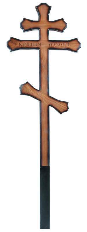 Крест дубовый Фигурный