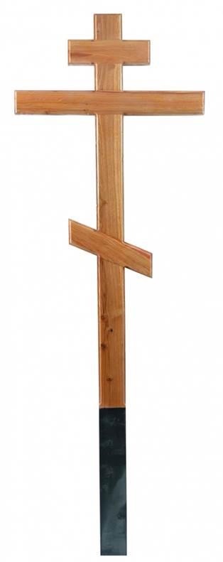 Крест дубовый Классический