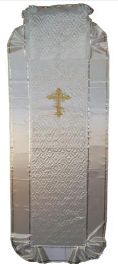 Покрывало стеганное с крестом